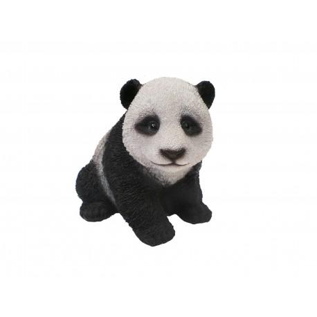 Vivid Arts Real Life Panda Cub Realistic Animals Small Resin Ornament