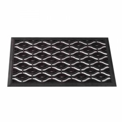Diamond Rubber Cast-Mat For Outdoor Use