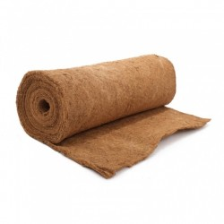 1m x 0.75m Natural Coco Liner For Lining Hanging Baskets, Planters & Tubs
