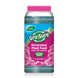900g Gro-Sure Ericaceous Plant Food Slow Release Granules Lasts For Up To 3month