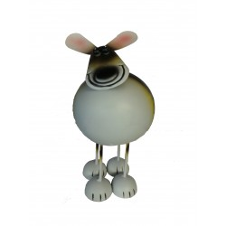 Fountasia Metal Garden Ornament Bobbing Friends Dog