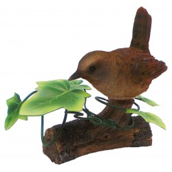 Vivid Arts Wren With Ivy Resin Ornament