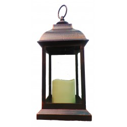 Smart Garden Bronze Battery Powered Dorset Lantern LED Candle
