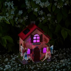 Smart Solar Fairies Only House Hand Painted Ornament Elveden Collection