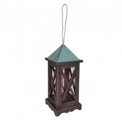 Gardman a09618 Decorative Metal Lantern Peanut Feeder