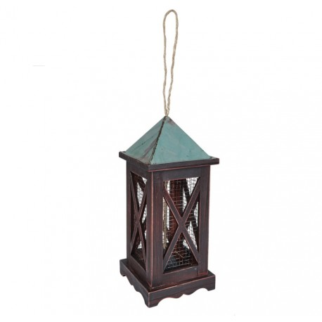 Gardman a09618 Decorative Metal Lantern Peanut Feeder