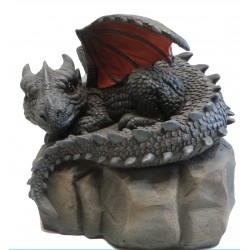 Vivid Arts Dragon On A Stone Size A Ideal For Indoor Or Outdoor Use