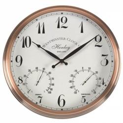 "Henley Wall Clock Suitable Indoors & Outdoors 12"" / 30cm"
