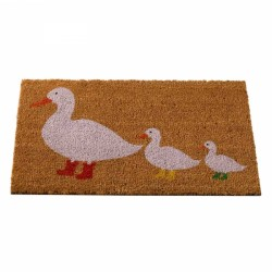 Smart Garden Ducks in Boots Coir Doormat Indoor OutDoor Mat 75x45cm