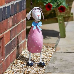 Dotty Sheep Garden Sculpture by Smart Garden ideal present for garden or home