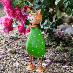 Spangle Cat Garden Sculpture by Smart Garden ideal present for garden or home
