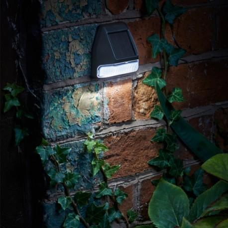Solar Powered LED Garden Wall Fence & Post Light Outdoor Lighting Smart Garden