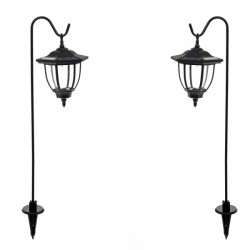 2 Pack Powered Shepherds Crook Coach Lanterns