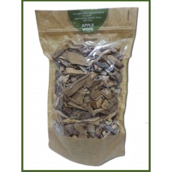 Apple Wood Smoking Chips Ideal For Use In BBQ's Or Smokers