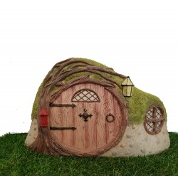 The Enchanted Burrow House Fairy Garden Ornament The Miniature World Vivid Arts