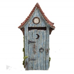 Rustic Stump Cottage House Fairy Garden Ornament The Miniature World Vivid Arts