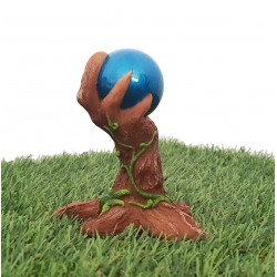 Fairy Garden Mystical Gazing Ball Part Of The Miniature World Plus Garden Vivid Arts