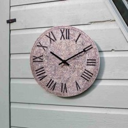 Rock Clock Horloge Effect 12 inches For Use Indoor And Outdoor