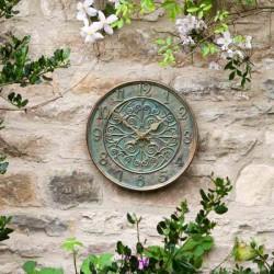 Verdant clock Quartz Accuracy 12 inches For Use Indoor And Outdoor Smart Garden