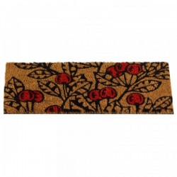 Cherries Door Mat Insert For The Coir Rubber Mats Ideal For Inside Or Outside by Smart Garden