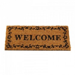 Welcome Door Mat Insert For The Coir Rubber Mats Ideal For Inside Or Outside by Smart Garden
