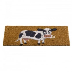 Daisy Cow Door Mat Insert For The Coir Rubber Mats Ideal For Inside Or Outside by Smart Garden