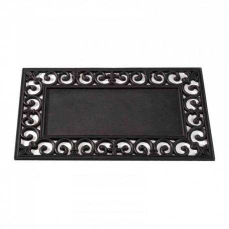 Black Rubber Frame For Insert For The Coir Mats Ideal For Inside Or Outside by Smart Garden
