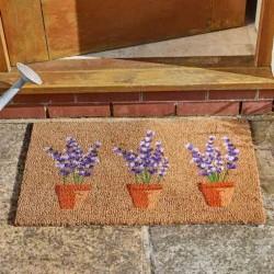 Lavenders Coir Doormat Indoor Outdoor Door Mat 75x45cm