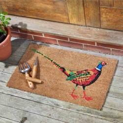 Le Faisan Coir Doormat Indoor Outdoor Door Mat 75x45cm