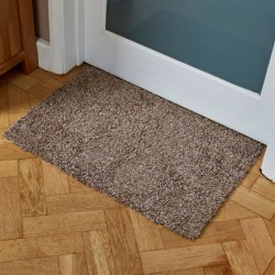 Outdoor Opti-Mat Door Mat Mocha Non Slip Backing 75 x 45cm Smart Garden