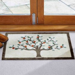 Tree Of Life Door Mat Highly absorbent Non Slip Backing 75 X 45CM Smart Garden