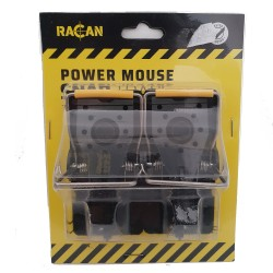Racan 2 x Power Mouse Snap Traps - Professional Quality & Easy Set Mice Control