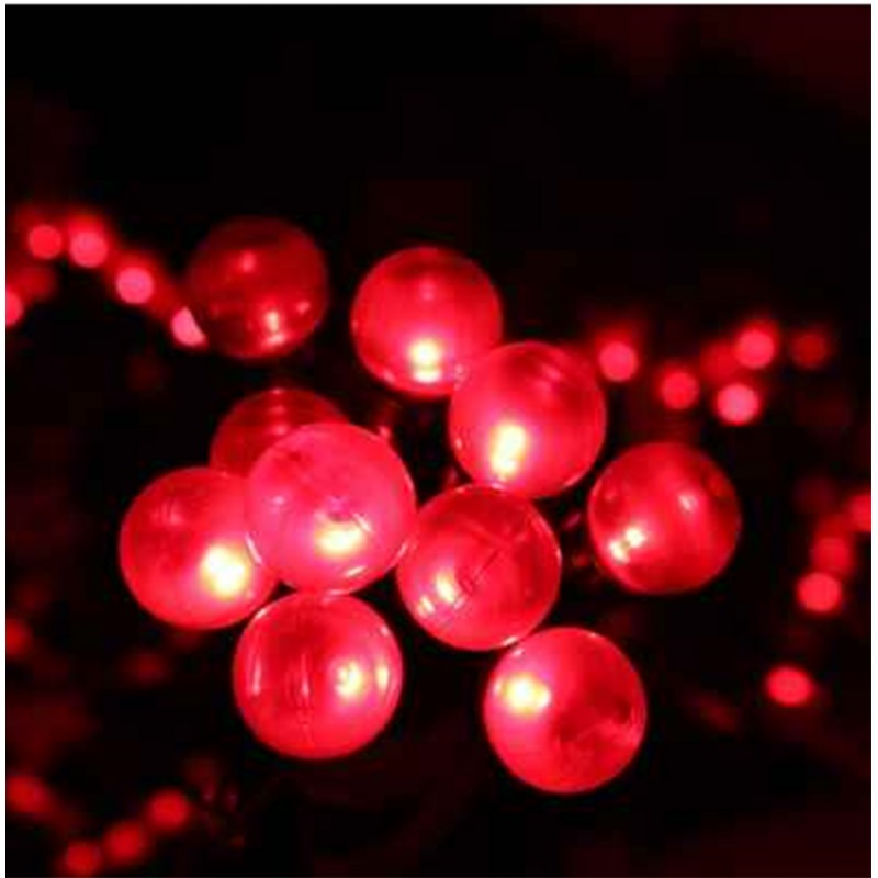 the best attitude 573ad 67ac6 200 Large Red Berry Fairy Lights Indoor Outdoor Christmas Lights Lights  Mains Powered - Moles Garden Store