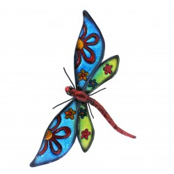 Large Dragonfly Metal Wall Art Ideal For Home Or Garden By Fountasia