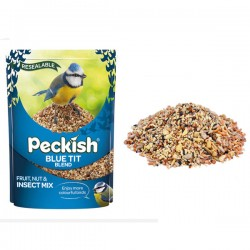 Blue Tit Bird Seed Mix, 1 kg With added Calvita Vitamin Mix By Peckish