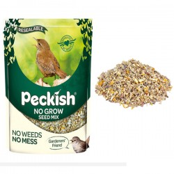 No Grow Seed Mix For Wild Birds, No Weeds, No Mess 1.7 kg Peckish