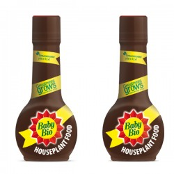 2 x Baby Bio Original House Plant Food, Concentrate - 175 ml
