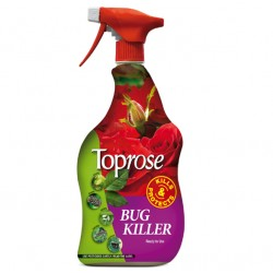 Toprose Bug Killer 1L RTU Fast Acting, Up to 2 weeks control of pests