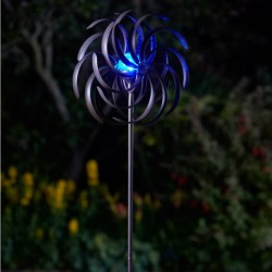 Smart Solar Solar Powered Wind Spinner Spiro