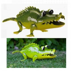 Ali-gator Garden Statue Decorative Garden Metal Ornament flamboya Smart Garden