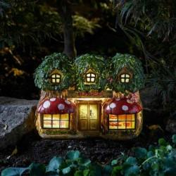 Elfridges Solar Powred Fairy Garden Shop
