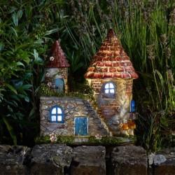 Elfstead Solar Powred Fairy Garden House