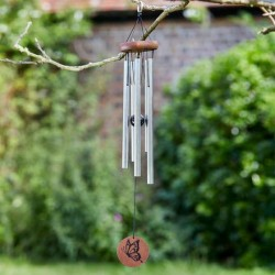 Classic Garden Wind Chime - 54cm Musically Toned Sound For Any Garden Flamboya