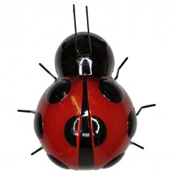 Giant Decor Ladybird Outdoor Garden Wall Art Hand Painted Fountasia