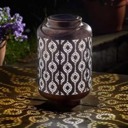 Smart Solar Adana Garden Lantern Solar Powered Silhouette Effect