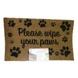 Hearty Hello Coir Door Mat For Indoor Or Outdoor Use