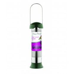 Style Bird Nyjer Seed Feeder 31cm Tall By Chapel Wood