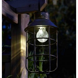 Smart Solar Zephyr Lantern Solar Powered With LED Light