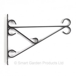 "Metal Hanging Basket Bracket Size 16/18"" Smart Garden"