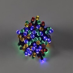 Smart Solar 50 LED Multi-Coloured String Lights Solar Powered